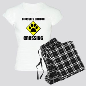 Brussels Griffon Crossing Pajamas