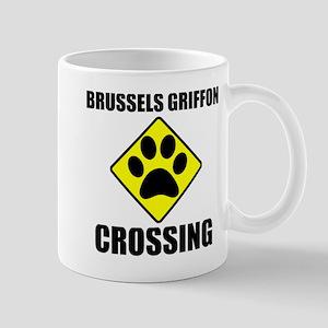 Brussels Griffon Crossing Mug