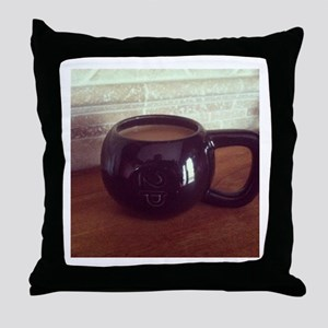 Kettle-Mug Throw Pillow