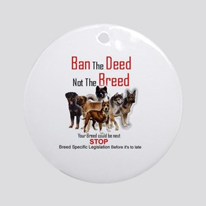 Anti-BSL Ornament (Round)