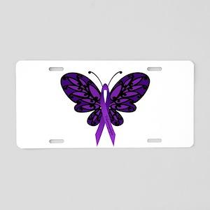 Fibromyalgia Awareness Aluminum License Plate