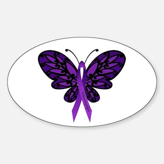 Fibromyalgia Awareness Decal