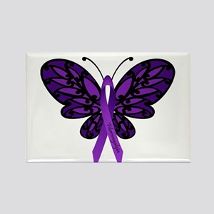 Fibromyalgia Awareness Rectangle Magnet