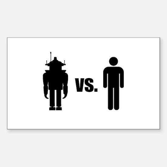 Robot VS Human Decal
