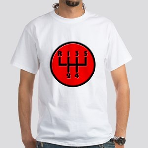 Stick shift White T-Shirt