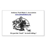 Indiana Trail Riders logo Sticker