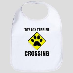 Toy Fox Terrier Crossing Bib