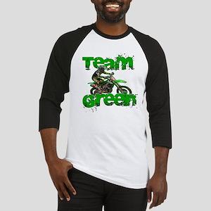 Team Green 2013 Baseball Jersey