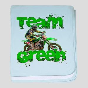Team Green 2013 baby blanket