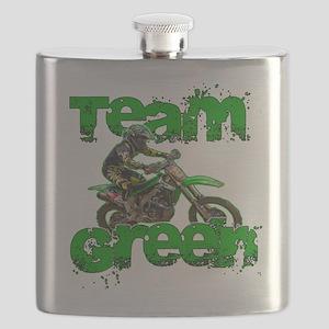 Team Green 2013 Flask