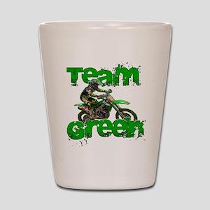 Team Green 2013 Shot Glass