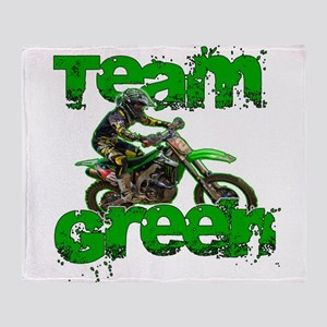 Team Green 2013 Throw Blanket