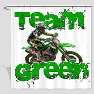Team Green 2013 Shower Curtain