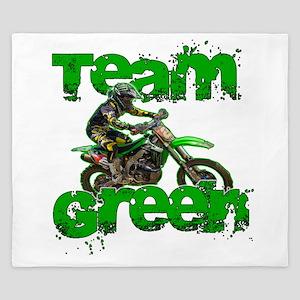 Team Green 2013 King Duvet