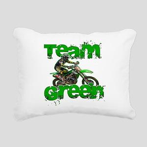 Team Green 2013 Rectangular Canvas Pillow