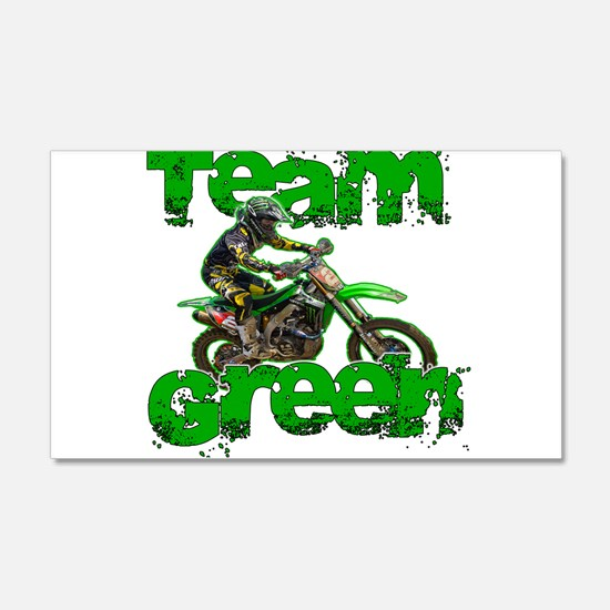 Team Green 2013 Wall Decal
