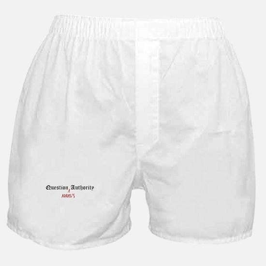 Question Adriel Authority Boxer Shorts