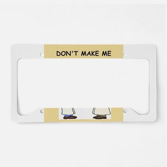 phd License Plate Holder