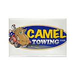 Camel Towing Logo Rectangle Magnet