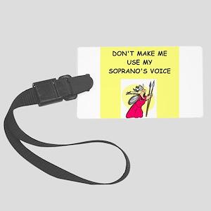 soprano, Luggage Tag
