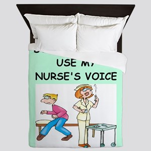 nurse Queen Duvet