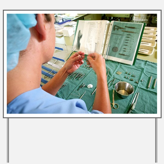 Surgical instruments - Yard Sign