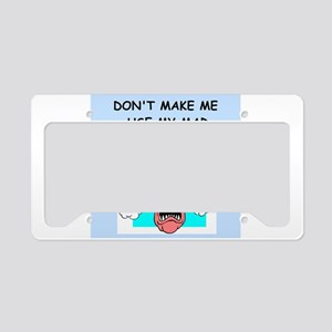 MAD SCIENTIST License Plate Holder