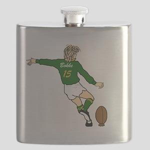 Springbok Rugby Fullback Flask