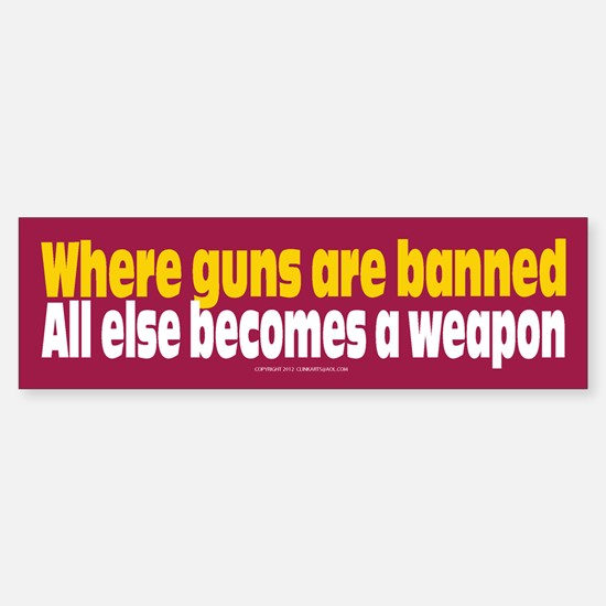Pro Gun Ownership Bumper Bumper Sticker Bumper Bumper Bumper Sticker