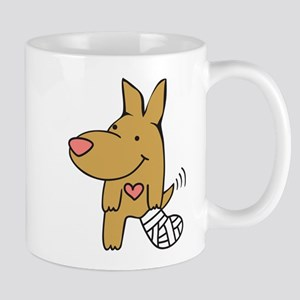 Broken Leg - Wagging Tail Mug