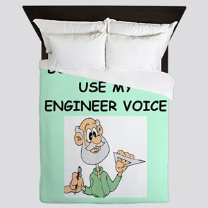 engineer Queen Duvet