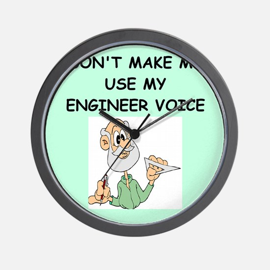 engineer Wall Clock