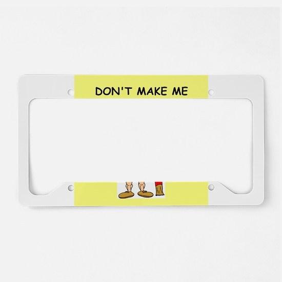 CURLER License Plate Holder