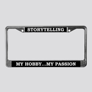 Storytelling License Plate Frame