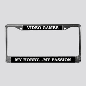 Video Games License Plate Frame