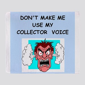 collector Throw Blanket