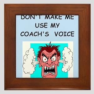coach Framed Tile