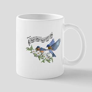 Bluebird Skies Notes Mugs