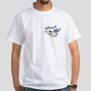Bluebird Skies Notes T-Shirt