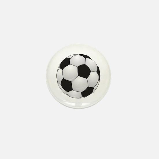 Soccerball II Mini Button