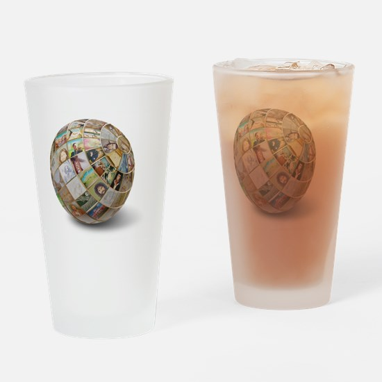 Art world of Kean Butterfield Drinking Glass
