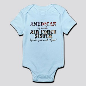 Air Force Sister by grace of God Body Suit