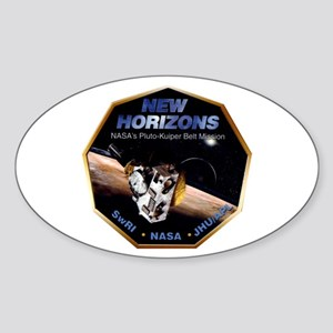 New Horizons Program Logo Sticker (Oval)