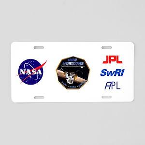 NH Ops Logo Aluminum License Plate