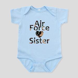 AF Sister Camo Heart Body Suit