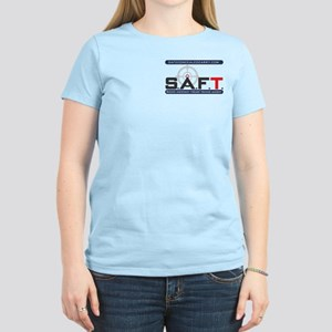 SAFT Color Logo with Web Address T-Shirt