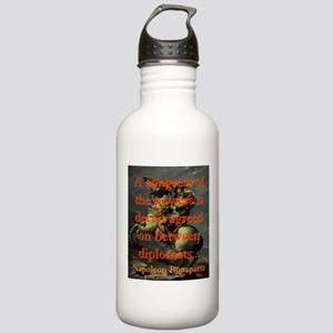 A Congress Of The Powers - Napoleon Water Bottle