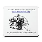 Indiana Trail Riders logo Mousepad