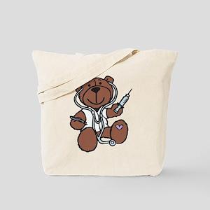 Doctor Teddy Tote Bag