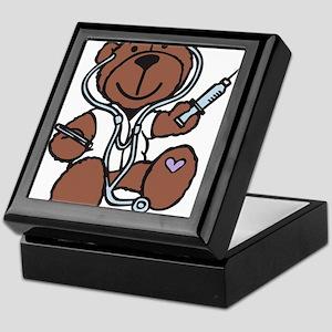 Doctor Teddy Keepsake Box